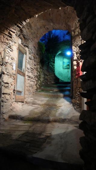 Malerische Gasse (Via Cavour)
